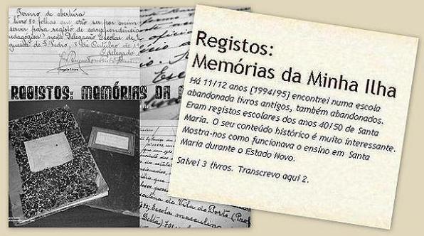 Registos: Memórias da Minha Ilha