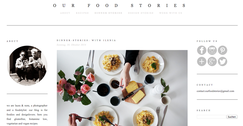 Our Food Stories