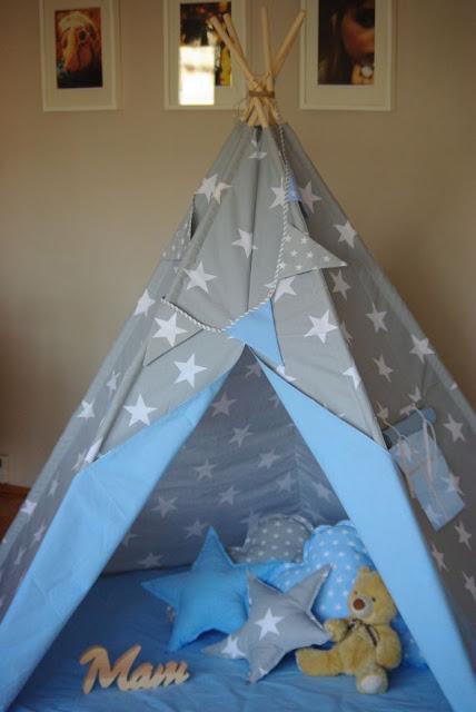 teepee , namiot dla dzieci, duze tipi, piecioramienne tipi