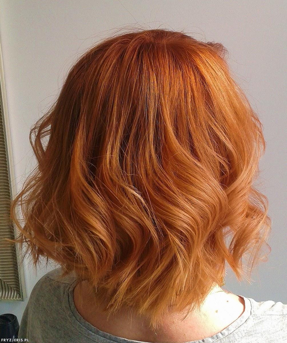 koloryzacja rudy kolor włosów
