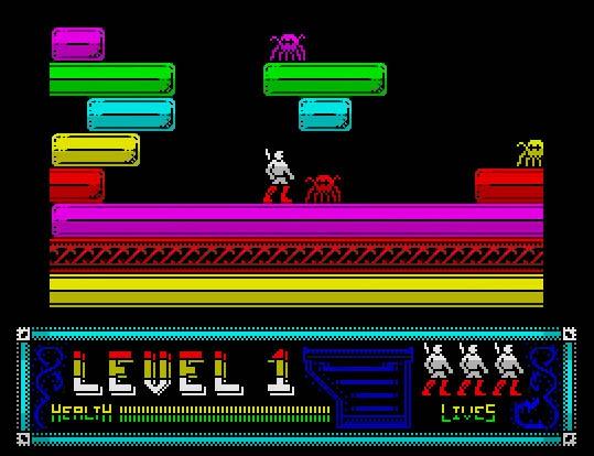 Ninjaman, ¿el mejor scroll multidireccional para ZX Spectrum?