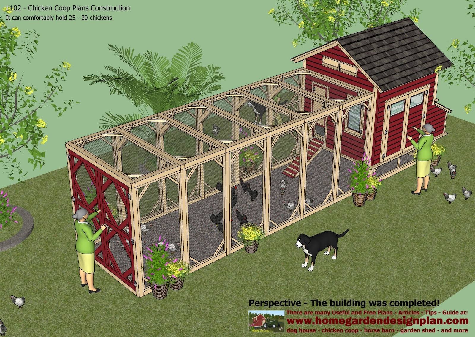 Sntila l102 chicken coop plans construction chicken coop for A frame chicken house