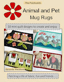 NEW - Animal & Pet Mug Rugs - all your favourite animal patterns in one booklet