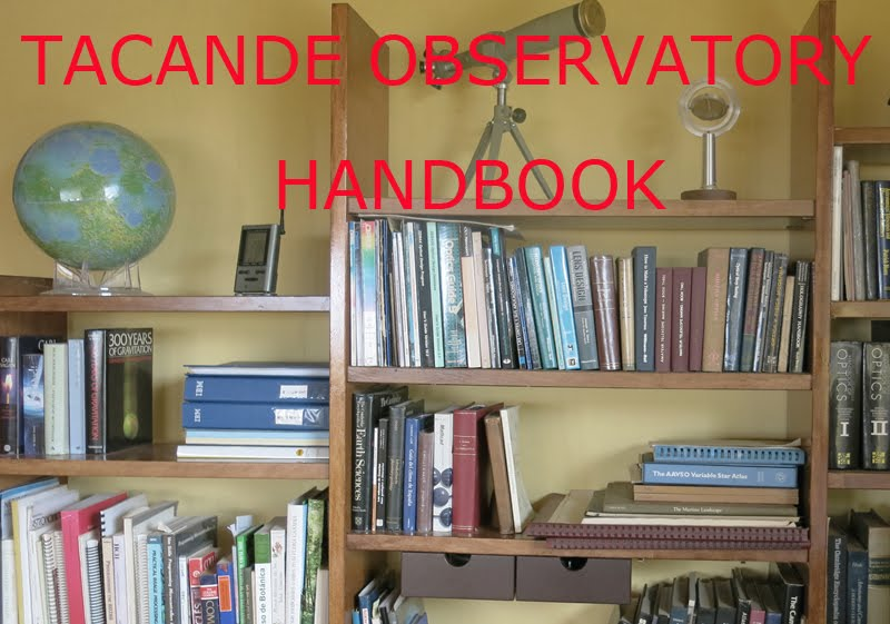 OBSERVATORY HANDBOOK AND MORE