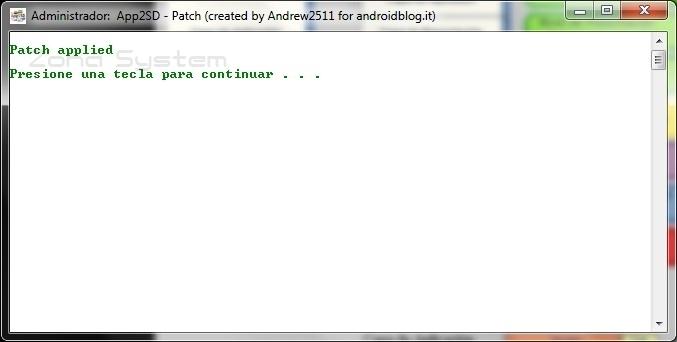 Mover aplicaciones a la tarjeta SD externa en Android para HTC