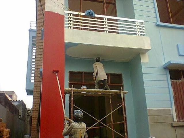 sơn nhà đẹp sài gòn