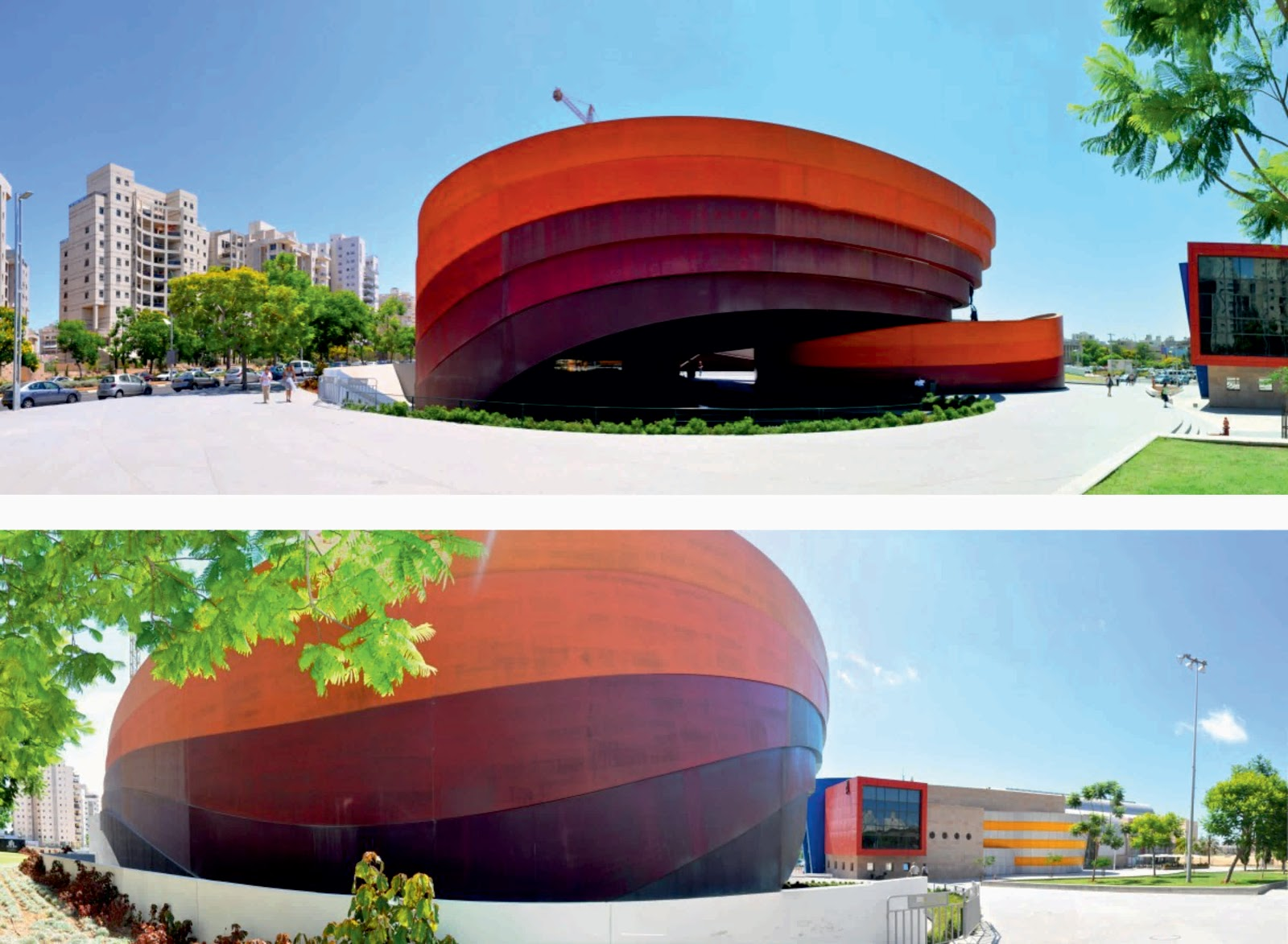 Design museum holon by ron arad architects for Architecture and design