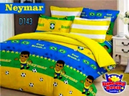 Sprei Neymar Brazil Handmade pojokhandmade.com