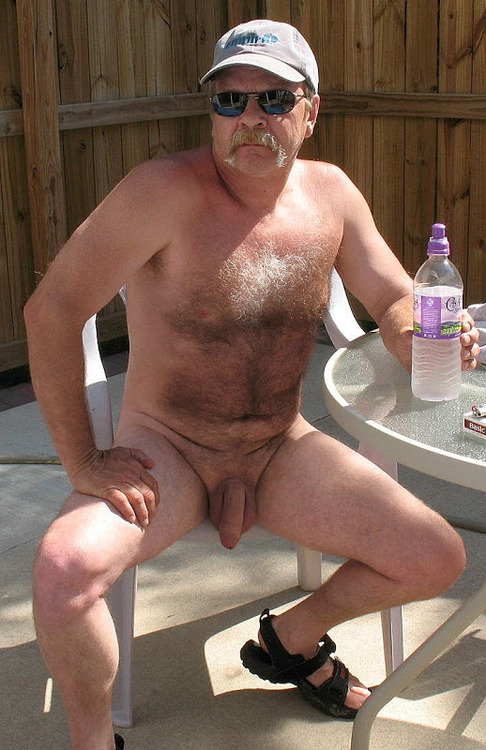 Hairy Naked Daddy Truckers