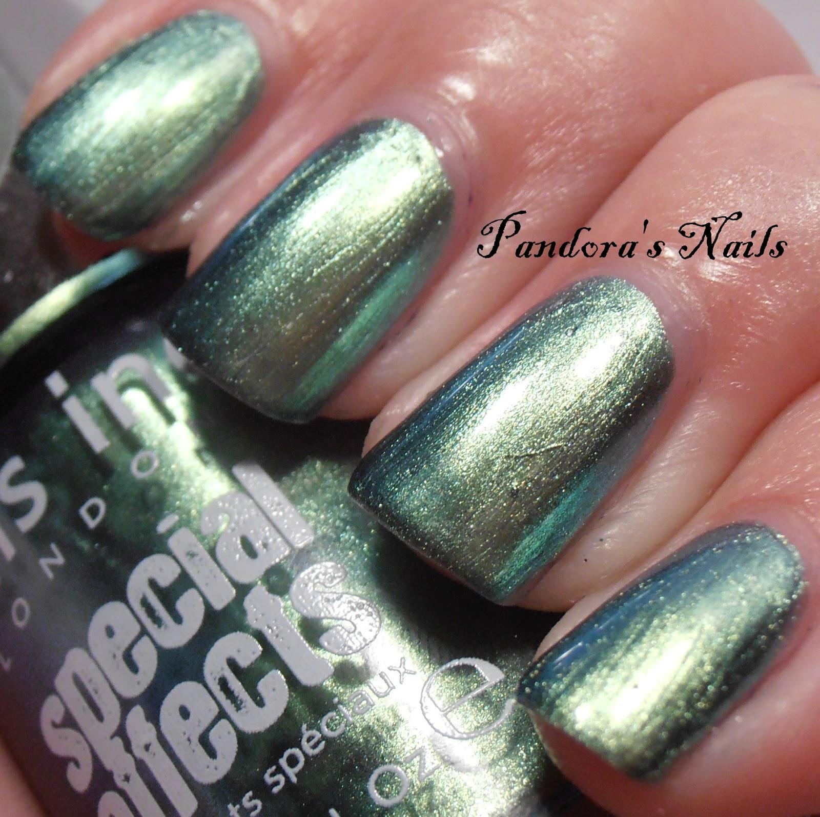 Pandora's Nails: Nails Inc Swiss Cottage Mirror Metallic