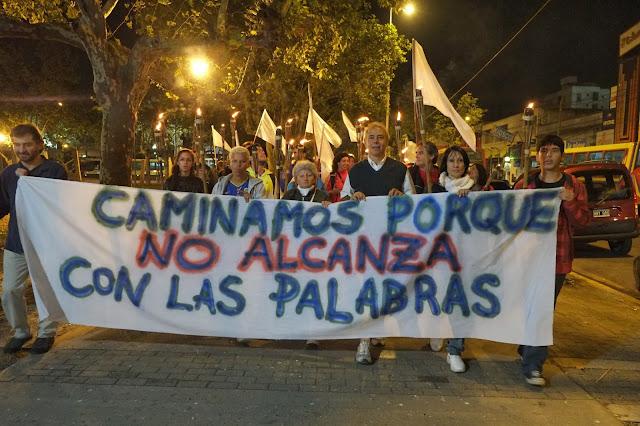 Ante el primer aniversario de la tragedia que causó 51 muertos que viajaban en  el tren cuando llegó a la Estación de Once, se realizó una marcha desde Moreno -pronvincia de Buenos Aires- hacia la Capital Federal .