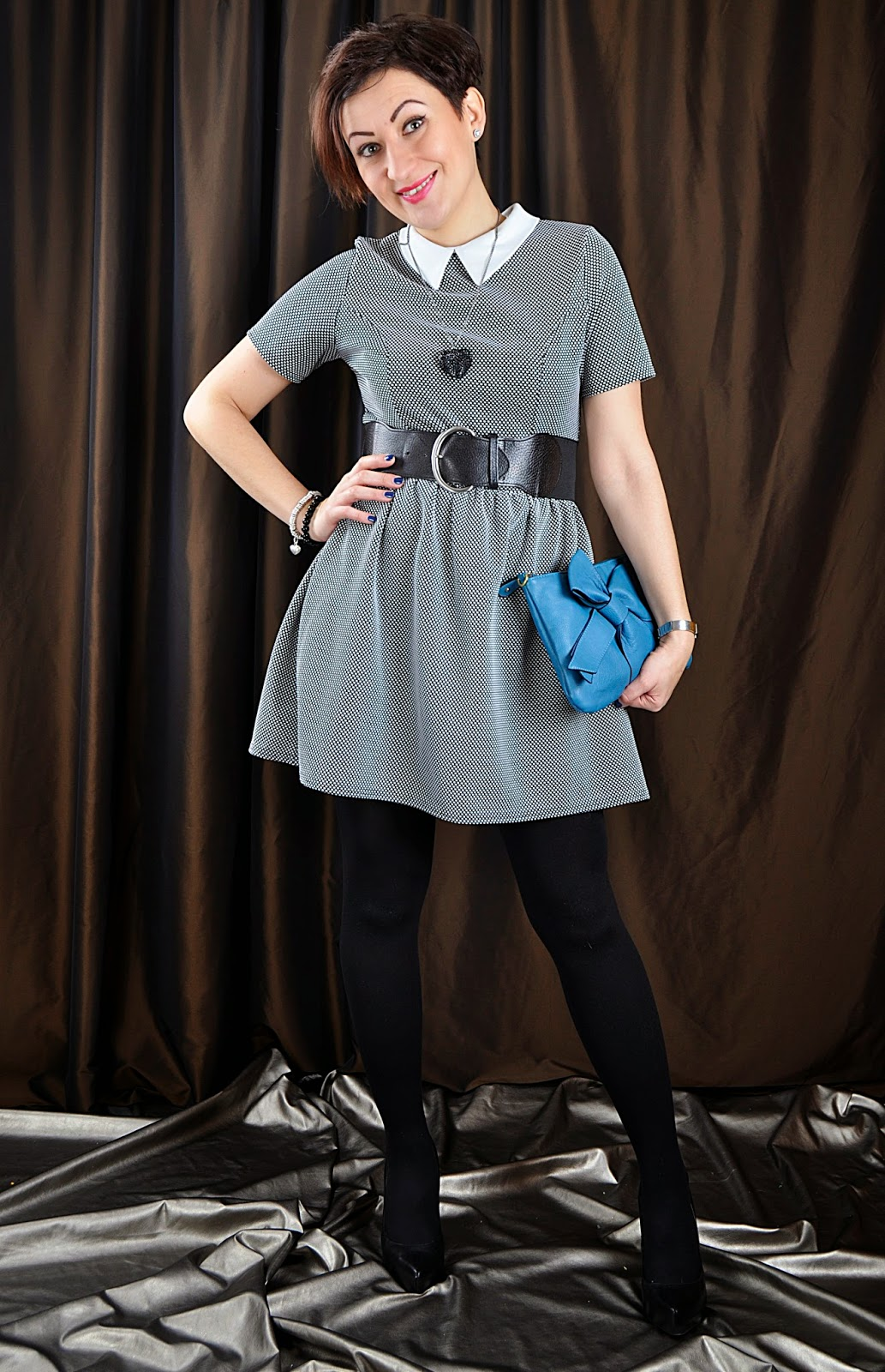 Peter Pan Collar Dress***Oliver Heldens Melody***