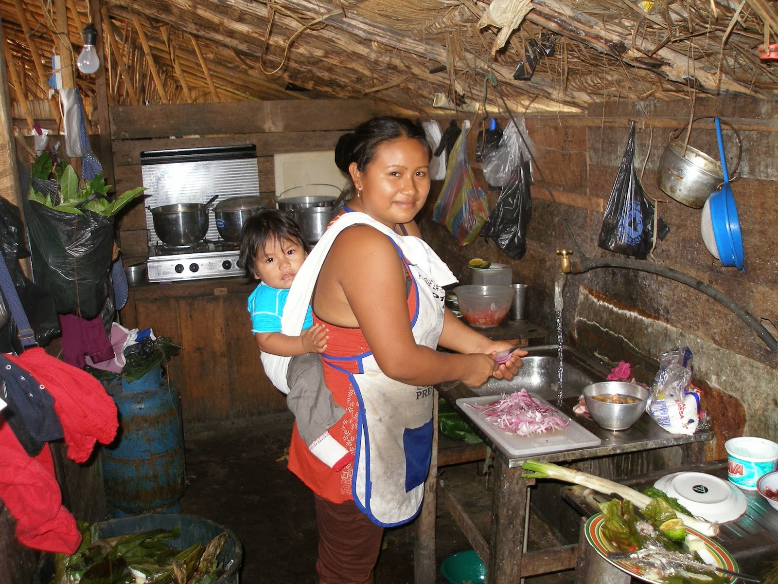 traditional kitchen in Ecuador