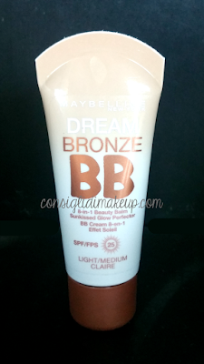 Review: Dream Bronze BB Cream - Maybelline