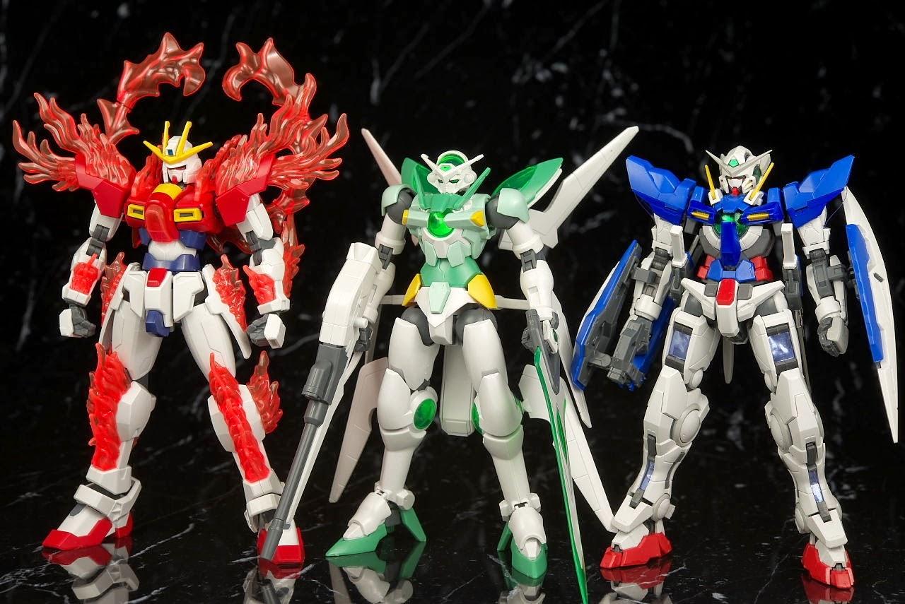 Gundam family hgbf 1 144 gundam portent review for Portent gundam hg