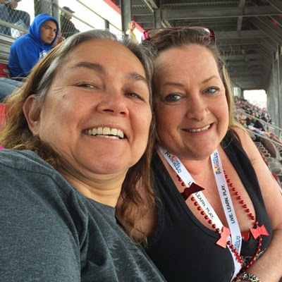 #NASCAR Race Mom enjoying great racing and super friends!