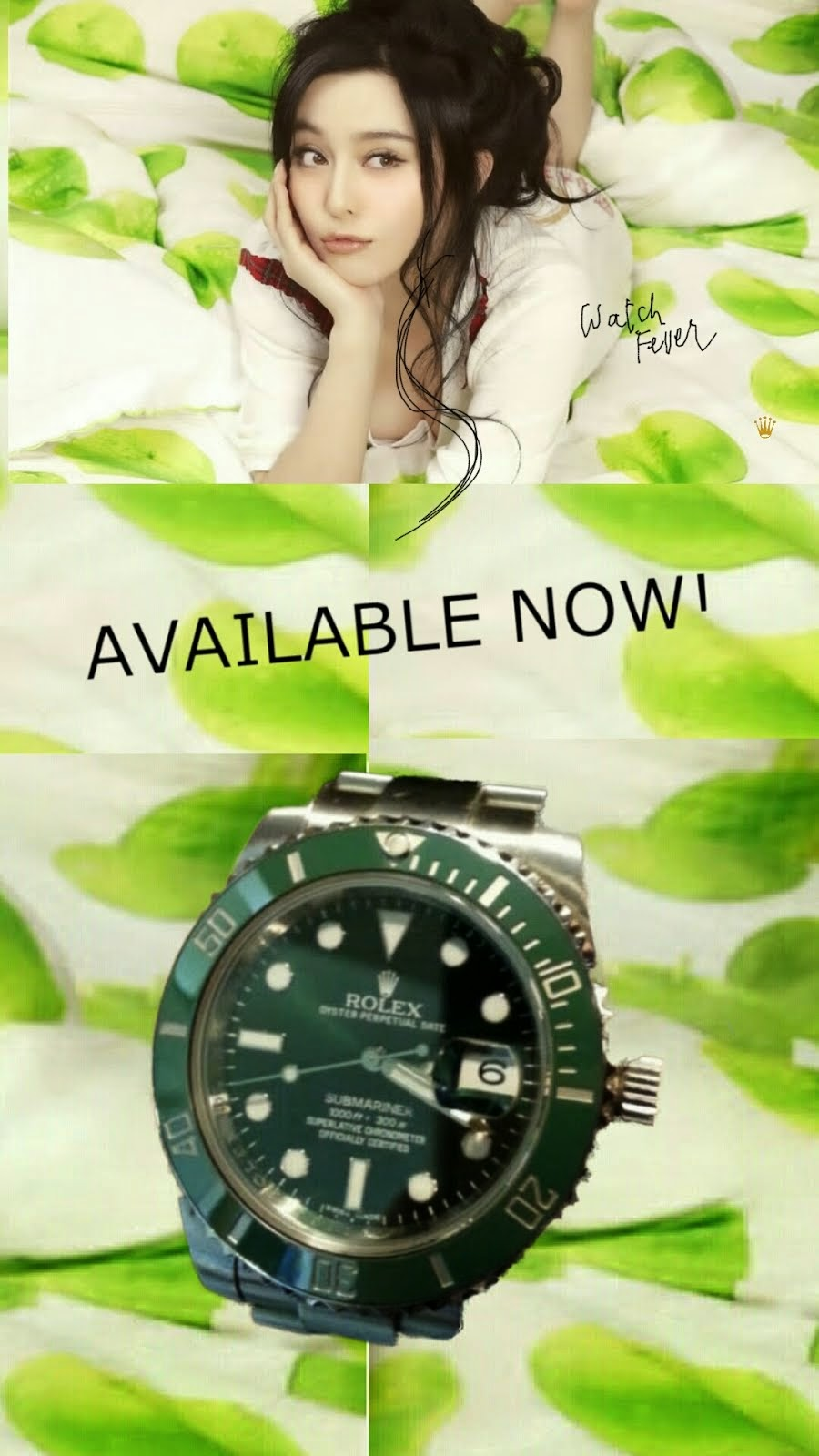 Submariner Green bezel Green Dial is Available NOW at AD