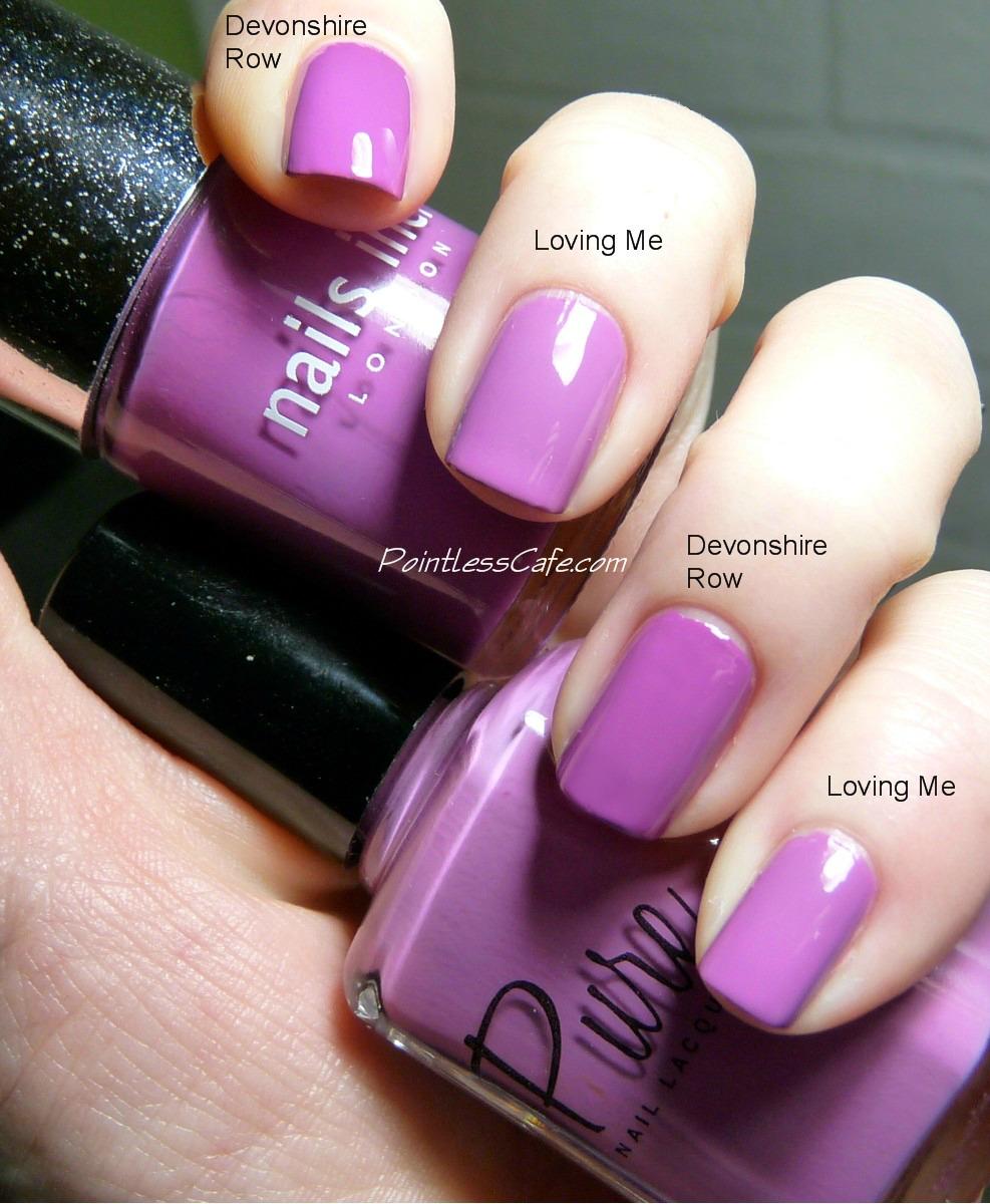 Pure Nail Polish: Loving Me And A Comparison