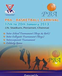 2013 PBA Basketball Carnival set to tip off in Chennai
