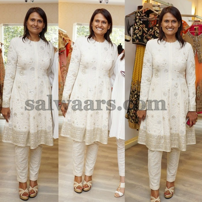 white salwar kameez by neeta lulla indian dresses