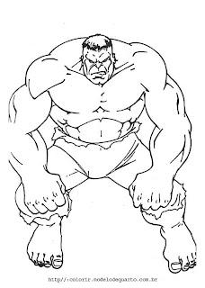 Desenhos do Hulk