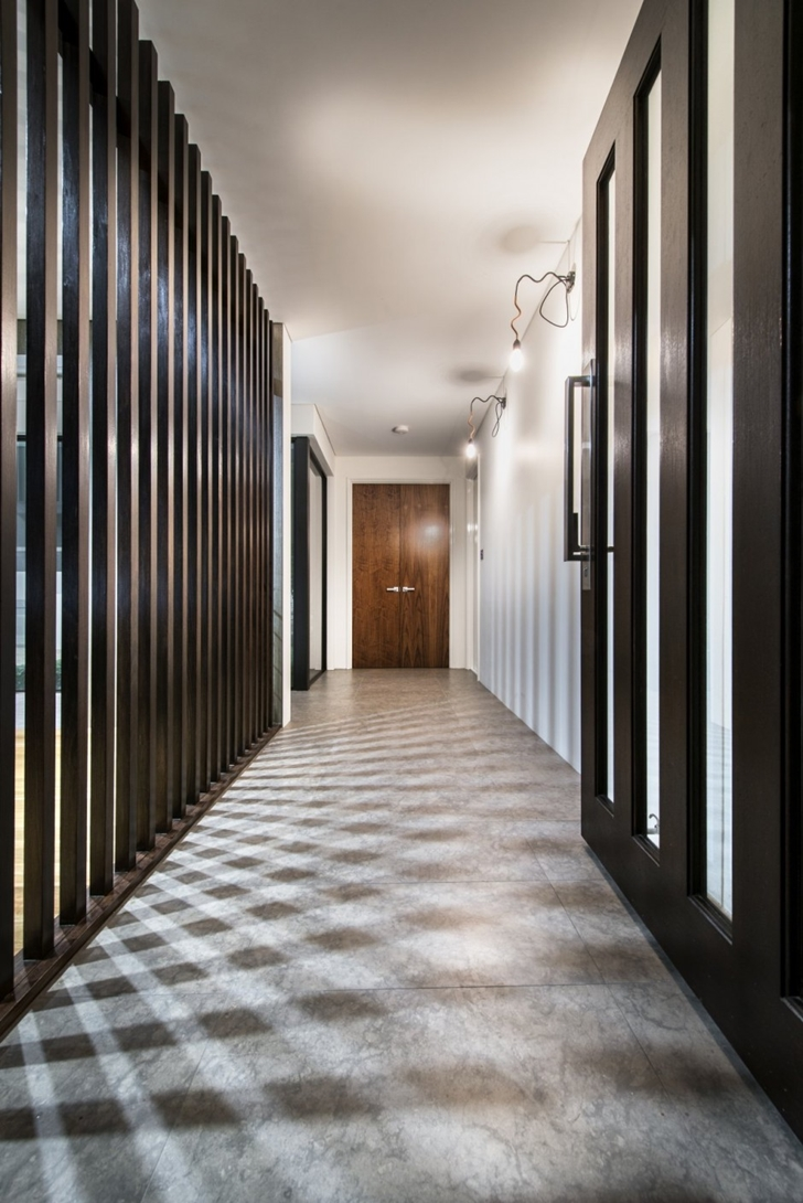 Entrance hallway in The Warehaus by Residential Attitudes