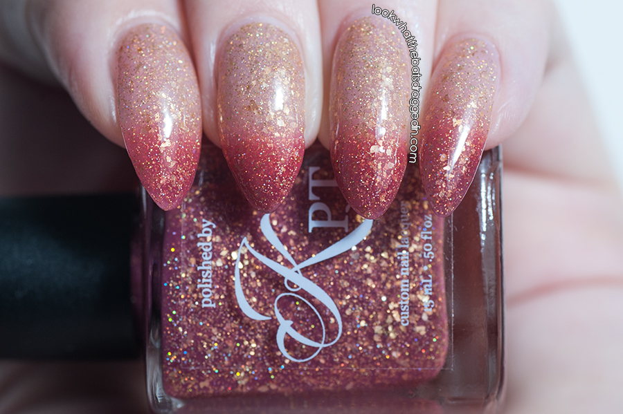 Polished by KPT Same Fall Different Beginning thermal nail polish swatch