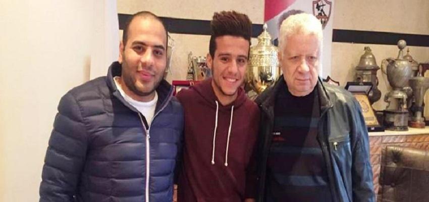 الزمالك يمدد عقد مصطفى فتحى لمدة 5 سنوات ولا يمانع فى احترافه اوربيا