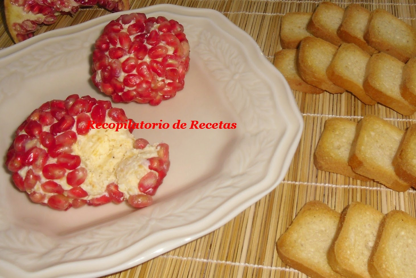 aperitivo quesos con granada en thermomix with comida para un cumpleaos de adulto