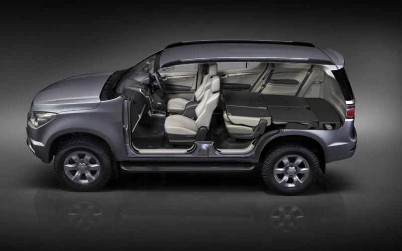 8 Seater Suv >> Production Chevrolet Trailblazer Debuts in Bangkok ...
