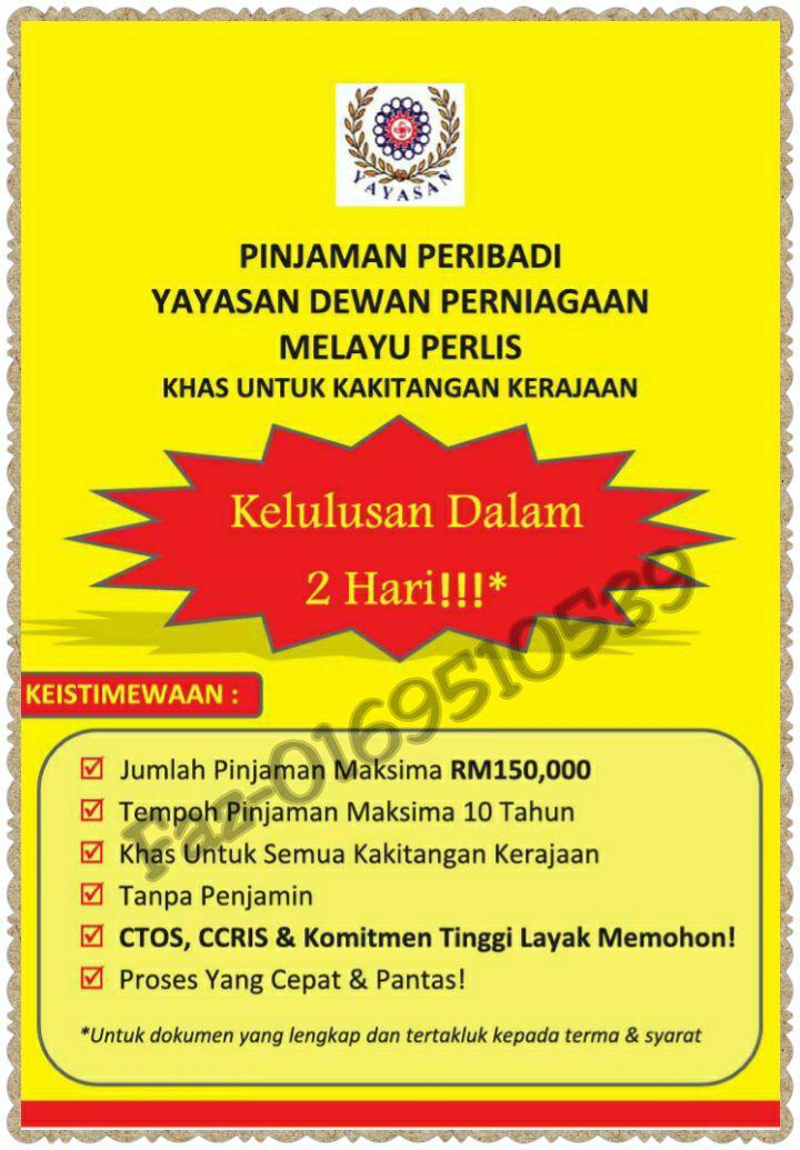Pembiayaan Peribadi-i Express Yayasan Ihsan Rakyat (YIR) 2015