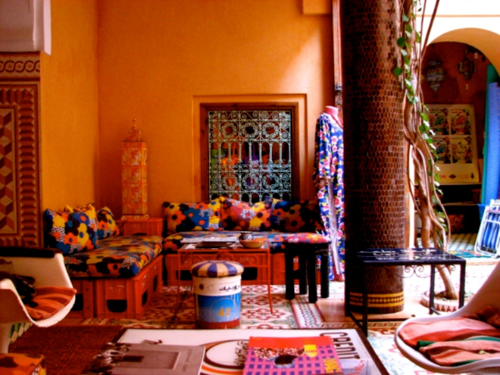 RIAD YIMA  Boutique Tea Room Gallery in Marrakech