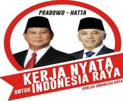 Capres Nomor 1 Prabowo Subianto-Hatta Rajasa