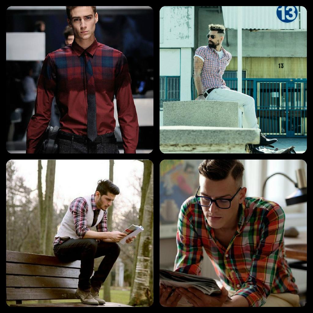 Camisa recta de cuadros Hombre Kiabi 10,00€ - imagenes de camisas a cuadros para hombres
