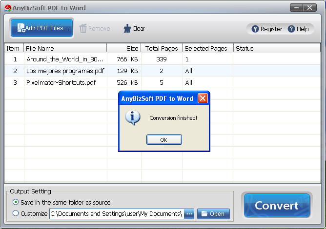 ms word to pdf converter for free