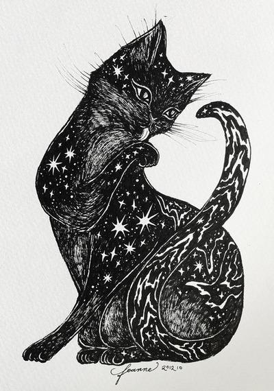 Cat Illustration Tumblr Dibujos, una entrada d...
