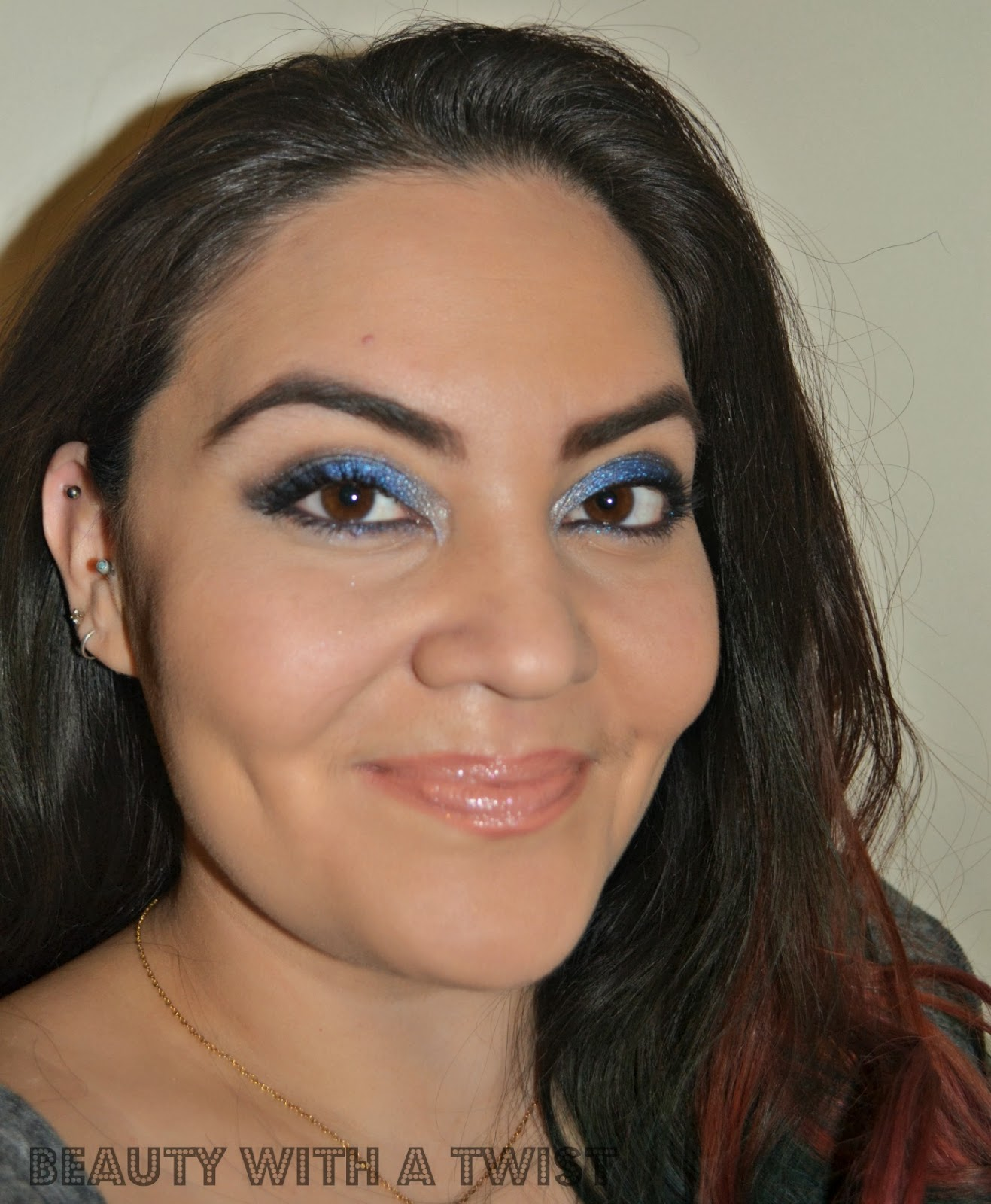 full face look using Laura Geller Sandy Lagoon Palette & Ardency Inn Coverage Concentrate