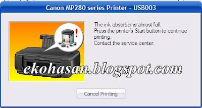 Canon MP280 series - USB003