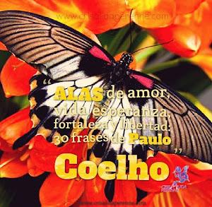 Alas de amor, vida, esperanza, fortaleza y libertad: 30 frases de Paulo Coelho
