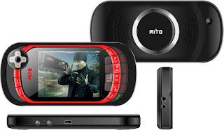 harga hape baru Mito 868 game layar sentuh murah
