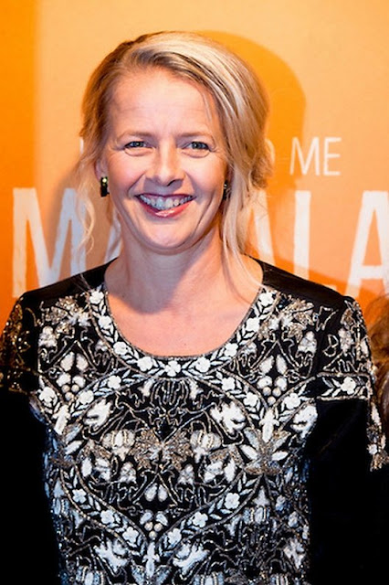 "Princess Mabel of The Netherlands attends the premiere of the documentary ""He Named me Malala"" in Hilversum - Pakistani female activist and Nobel Peace Prize laureate Malala Yousafzai"