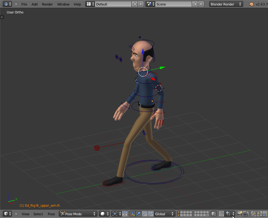 Blender is a free and open source 3d animation suite software