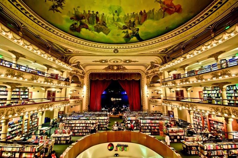 Resultado de imagem para El Ateneo Grand Splendid