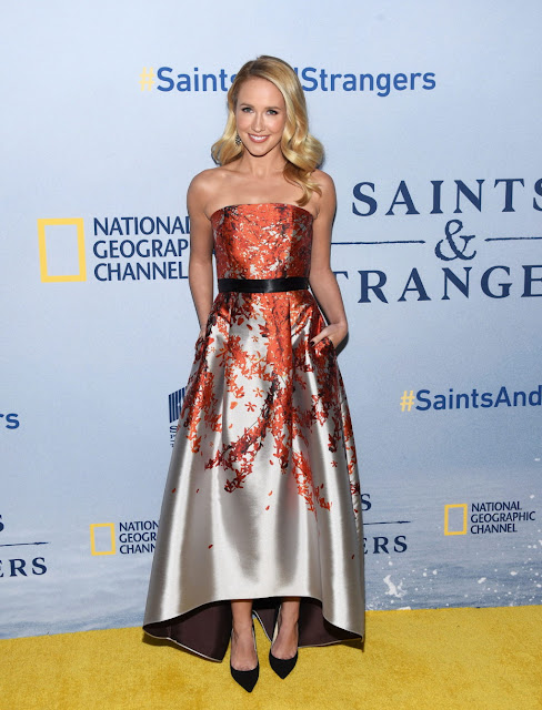 Actress, Singer @ Anna Camp - National Geographic Channel's Saints And Strangers premiere in Beverly Hills