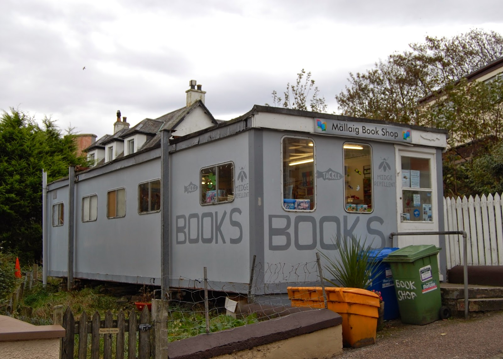 Mallaig's book shop