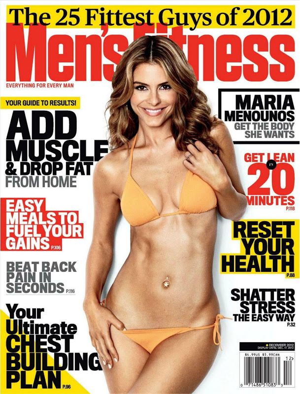 Maria Menounos – Men's Fitness (December 2012)