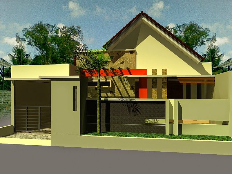 Gambar desain atap rumah 2015
