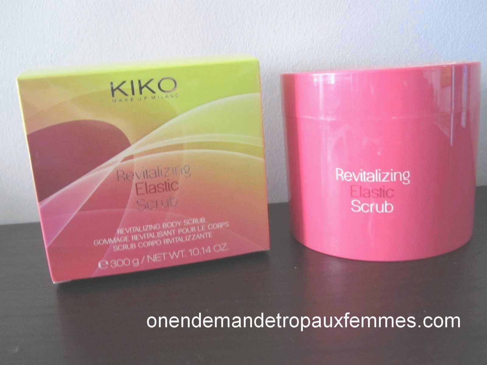 Revitalizing Elastic Scrub de KIKO