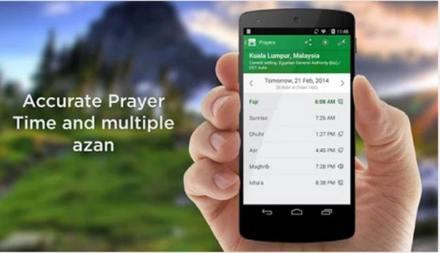 Aplikasi Android Terpopuler Untuk Alarm Adzan
