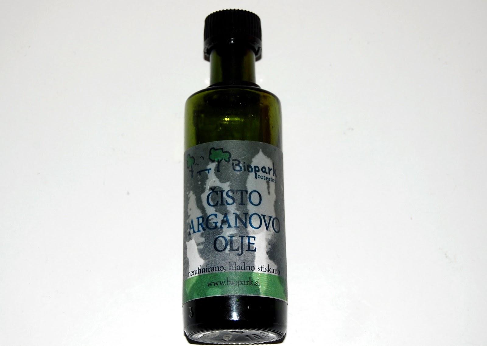 Biopark Cosmetics Čisto arganovo olje